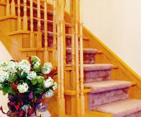 Hallway staricase